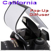 free universal soft screen pop-up flash diffuser for olympus pentax