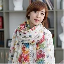 popular floral scarf
