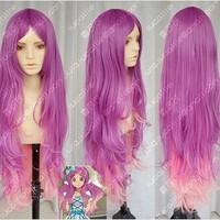 AKB0048 Kishida Mimori  Wavy Gradient Lolita Cosplay Party Wig