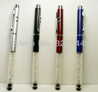 More Function Pen New model with Touching lighter Four colors Thin pen shape free shipping