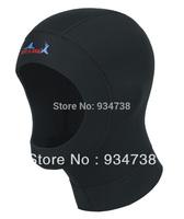 Neoprene 3mm  insulation diving cap wetsuit Ultra-thin swimming cap Snorkeling hat