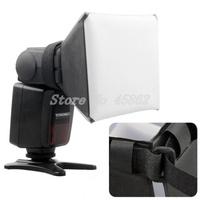 100% New & Wholesale Pixco Universal SoftBox Diffuser for External Flash Speedlite F Canon Canon 580EX 430EX Nikon SB600 SB800