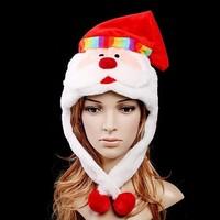 FREE SHIPPING! 100PCS/LOT! Christmas hat child adult hat Christmas decoration cap gift cap paragraph
