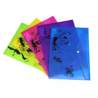 Huajie supplies multicolour cartoon storage bag folder stationery