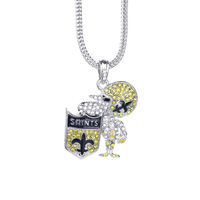New Orleans Saints Official NFL pendant Necklace Franco chains necklace XX161