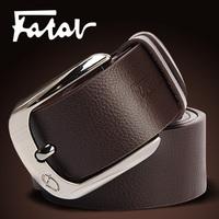 Free shipping 2013 Men fashion strap men brand belt genuine leather pin buckle BROWN/WHITE/BLACK/BLUE