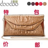 2013 women's wallet female long design day clutch female cowhide clutch clip female japanned leather wallet