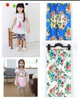 2013 trend female child summer legging trousers print child legging