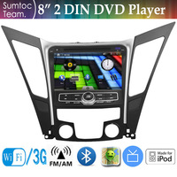 8 Inch Hyundai Sonata Car PC 2 Din Car DVD Player WINCE GPS ,IPOD,Bluetooth,WIFI,TV,FM/AM Stereo Radio RDS 3D Map