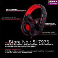 calidad del juego de auriculares auriculares de alta voz con el microfono para el equipo de juego de auriculares para juegos PC