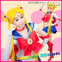 Customized cosplay Sailor Moon Tsukino Usagi Makoto Cos clothes cosplay customize sailor moon cosplay suit women's cosplay