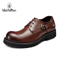 2013 first layer of cowhide business casual shoes leather shoes the loggerhead comfortable fashion hasp outdoor shoes