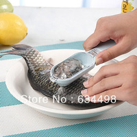 Fish Skin Remover Scaler Fast Cleaner Brush Kitchen Clean Tool