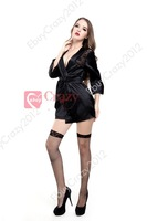 Sexy Lady Lingerie Nightwear Underwear Sleepwear Lace Back Honeymoon RobeSale Hot pajama lace skirt Free Shipping Size M XL 2XL