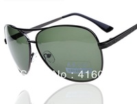 New 3 pieces Glare Blocking Atrovirens Polarized UV400 Lens MEN Sunglasses Metal Frame Aviator Glyph Legs Driving glasses 8879