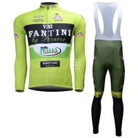 Hot Sale! /2013 Vini Fantini1 Long Sleeve Cycling Jerseys+bib pants (or pants)/Cycling Suit /Cycling Wear/Free Shipping-L13F101