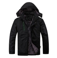 2013 new arrivals high quality men's outdoor jackets , casual sports jacket thick warm winter ski suits 3 color