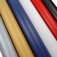 Promotional 3D carbon fiber sheets sticker car color change PVC film with size 127x3000cm and different colors