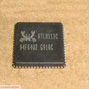 1x New Realtek RTL8111C Rtl 8111C QFN64 IC Chips(China (Mainland))