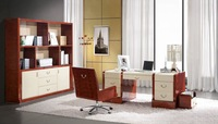 Italian design home furniture bookcase computer table home office furniture  YS001-Bk