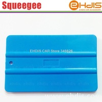 A03 pp material flexible car blue film squeegee car wrap tool plastic squeegee vinyl squeegees scraper tools
