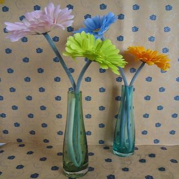Fashion crystal glass vase modern decoration home decoration accessories flower decoration