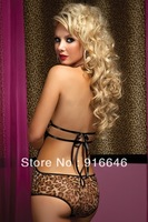 2014 New1063 Leopard leotard sexy lingerie wholesale sexy tulle veil six-color clothing manufacturers supply gameFree shipping
