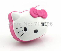 Free shipping Hello Kitty Portable Mini Speaker Perfect Sound Speaker with Micro SD Card slot support FM