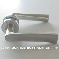 L138xH55mm Free shipping 2pcs/pair 304 stainless steel Door Handle Wooden door handle