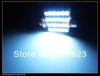 """10pcs/lot 36mm 5/8"""" 12V 24 SMD 1210 3528 LED Car Interior Dome AUTO Festoon Bulb Festoon Dome LED Light Bulb Light free shipping"""