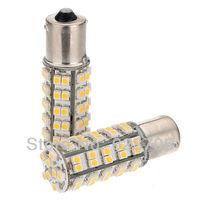 10pcs 1156 BA15s 1210 68 SMD LED Turn Tail Warm White Car Light Bulb 1073 1141 1129