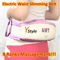 Free Shipping Electric Slimming Belt Enhanced Vershion with Viberation & Heating & Red Wave Weight Loss Full Body Massager