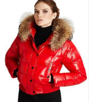 Aplin  Women's Winter Down Coats with fur caps DHL Free Shipping 6 colors