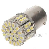 10pcs 1156 BA15S 1206 50 SMD Pure White Back up Reverse Tail Light Lamp Bulb DC 12V