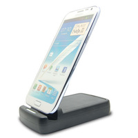 Dual Battery Charger Dock Cradle Desktop For Samsung Galaxy Note 2 II N7100