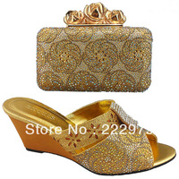 Free shipping! 2013 new design lady shoe and matching bag