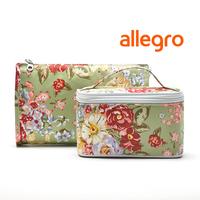 Fresh vintage pale green waterproof day clutch cosmetic storage bag