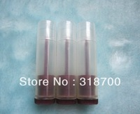 Free Shipping, 100/LOT 5G Transparent/Brown Cream Tube , 5ml Lip balm tube(not including the lip cream only the shell)