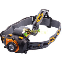 Fenix New HL30 Compact Headlamp 200 Lumens (Orange/Black) -- Shipping Worldwide