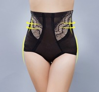 FREE SHIPPING/2013 hot sale 2pcs/lot  high quality  women's underwear Shaping Underwear Body-hugging pants XL/XXL/XXXL