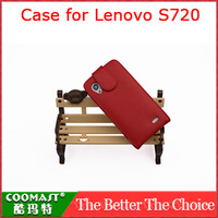 COOMAST  1PCS 100% original  Leather Case for Lenovo S720