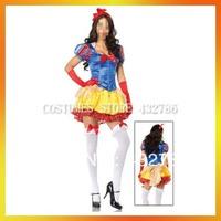 JLWC-5017B Free Shipping MOQ 1 set Costumes Snow White Cheap Carnival Costumes Halloween