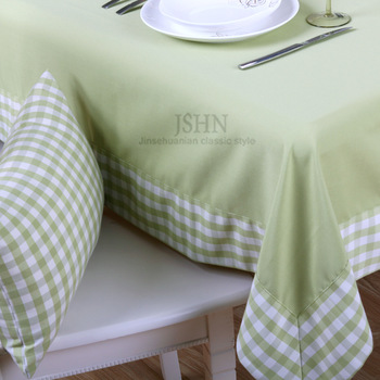 New 2013 Solid color plaid fashion rustic table cloth dining table cloth tablecloth coffee table cloth   Free shipping