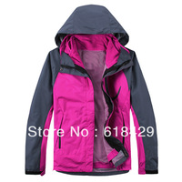 Newest Arrival 2013 high quality 2 in1 style outdoor sports jacket for women (c099)