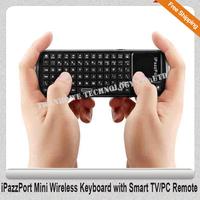 Free Shipping!!iPazzPort Mini Wireless Keyboard with Smart TV/PC Remote