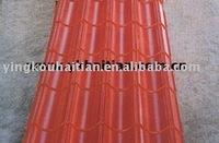 HT Colored Steel Roof Glazed Tile