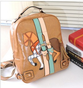 Free shipping 2013 new Korean Institute of retro style shoulder bag women bag bag backpack schoolbag