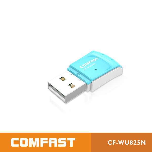 Comfast CF-WU825N Free shipping 300Mbps 802.11g/b/n lan usb wireless wifi adapter(China