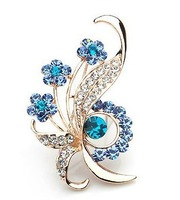 2013 fashion  Rhinestone Brooch Pins Jewellery Wholesale KGP Costume Brooches