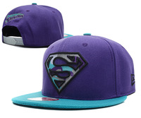Cheap 5 panel S Logo Superman Snapback Hats for Men's Women's Fashion Baseball Hip hop Casual Sports